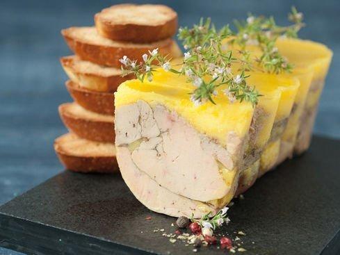 Foie gras canard maison cuit en terrine les 50g la cigale - Foie gras maison en terrine ...
